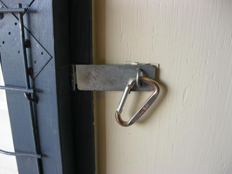 feed room gate hasp